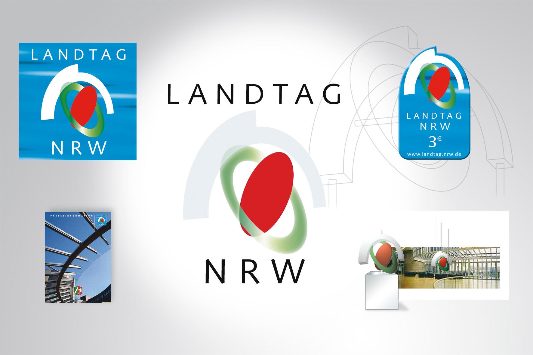 Kunde: Landtag NRW, Corporate Design