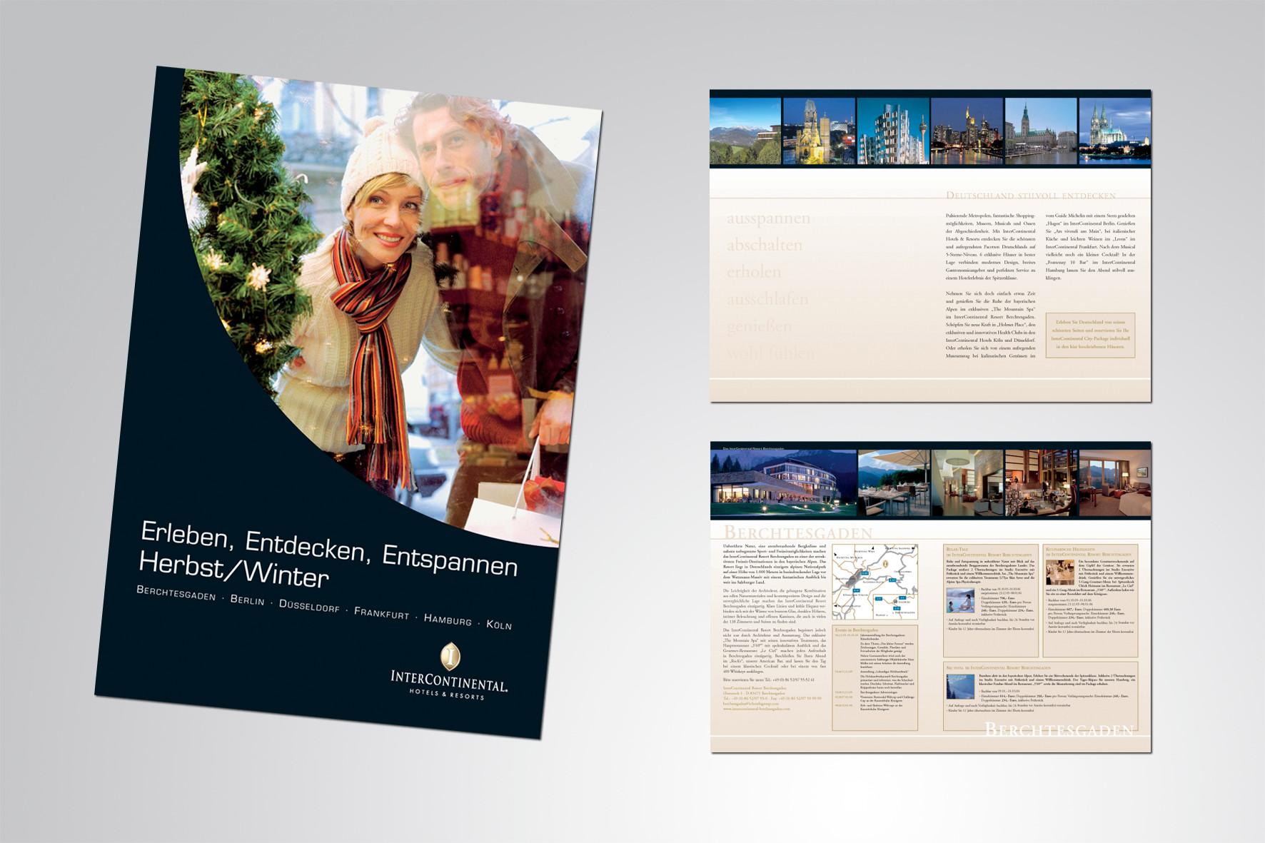 Kunde: InterContinal, Sales Broschüre