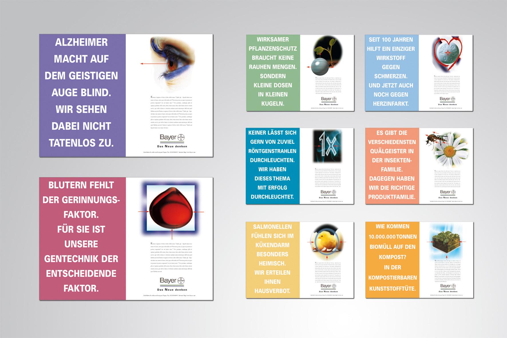 Kunde: Bayer · Produkt: Imagekampagne