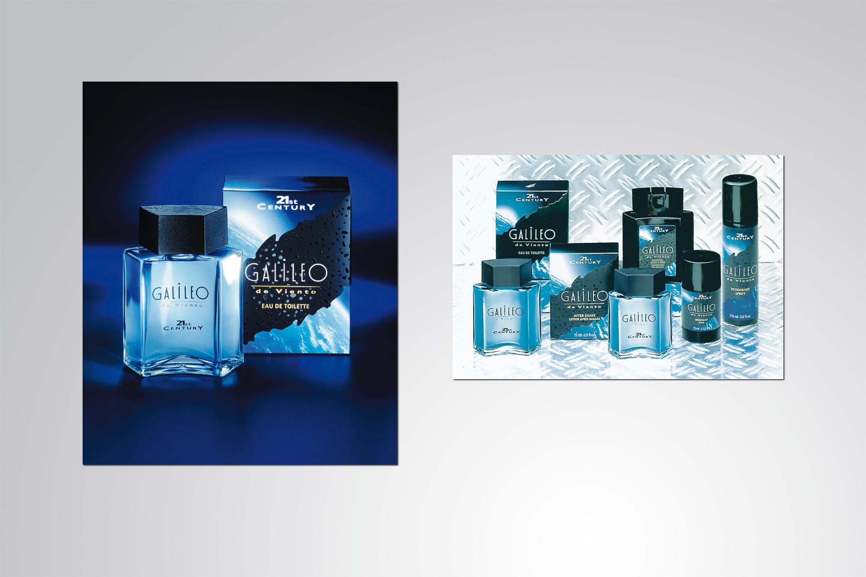 Kunde: Cosmopolitan Cosmetics · Produkt: Galileo 21st Century, Produkt Design und Bildwelt