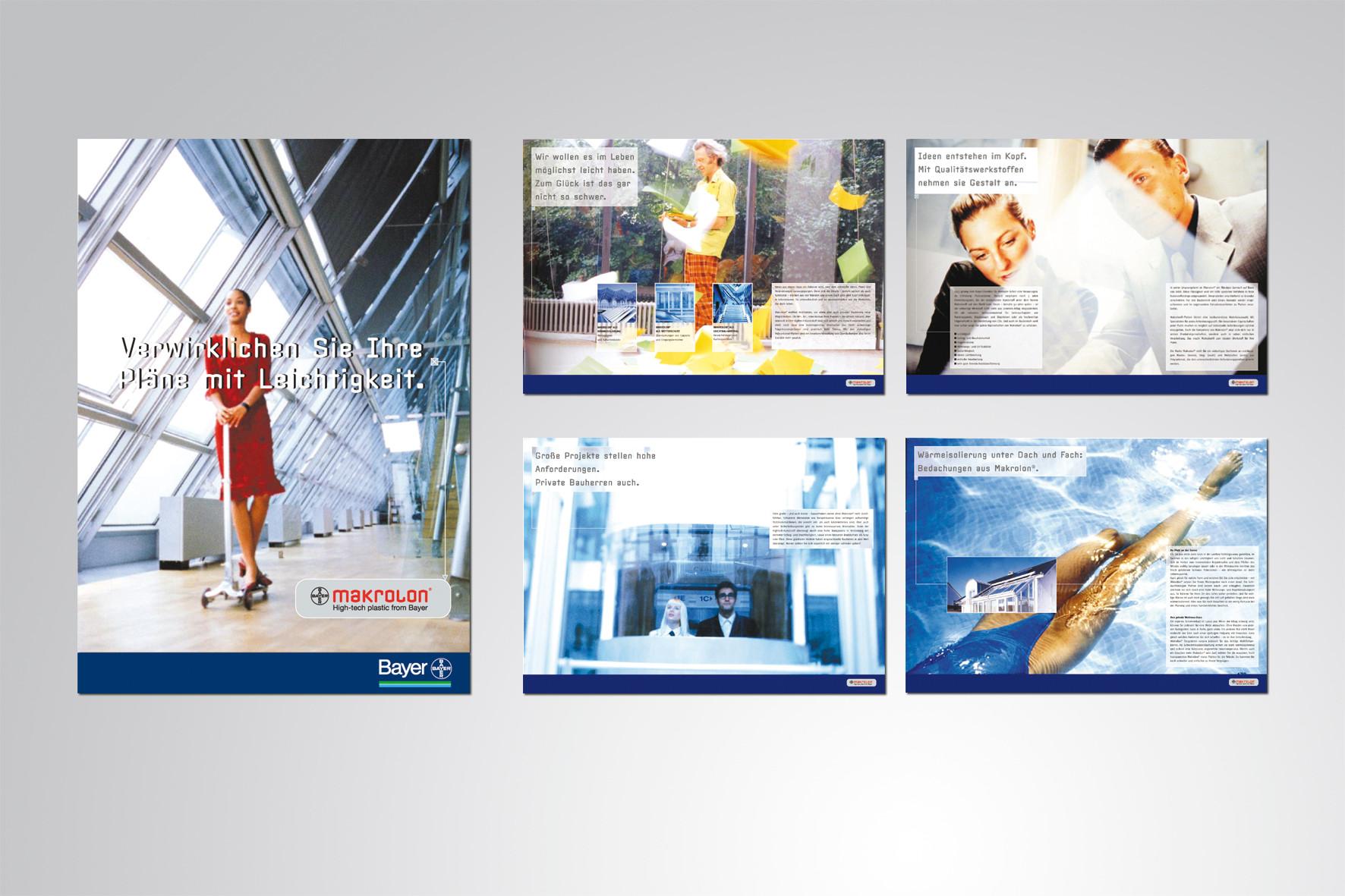 Kunde: Bayer · Produkt: Broschüre Makrolon