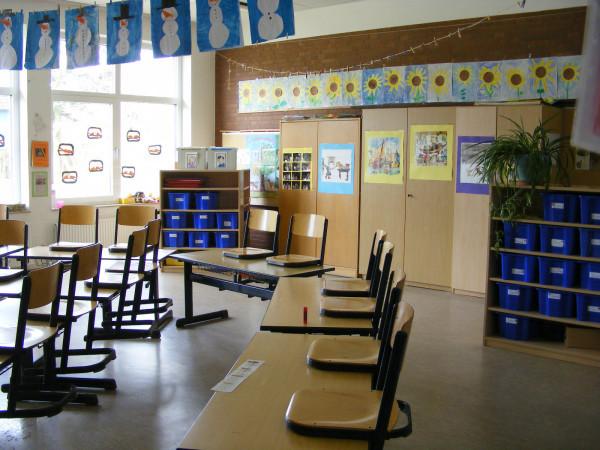 Das ist der Klassenraum der 1a.
