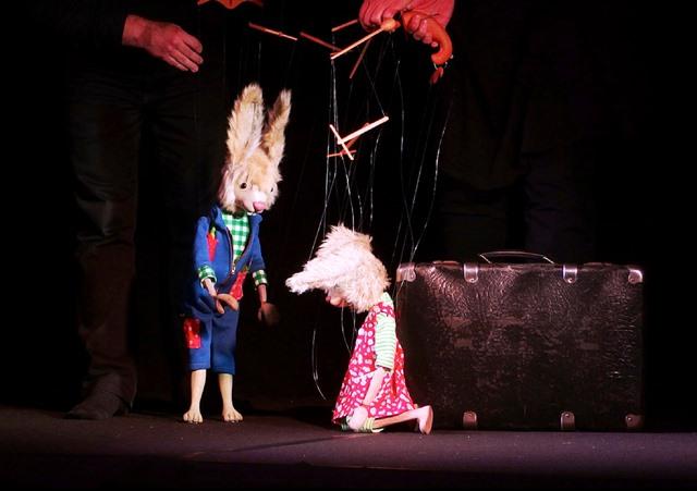 """""""Primel"""", Theater Traumraum, Monika Nikolini und Markus Goecke, Dormagen."""