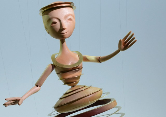 """Auszug der Jurybegründung: """"Ein Drehmechanismus ermöglicht anstrengungslos tänzerische Pirouetten von großer Lebendigkeit."""""""