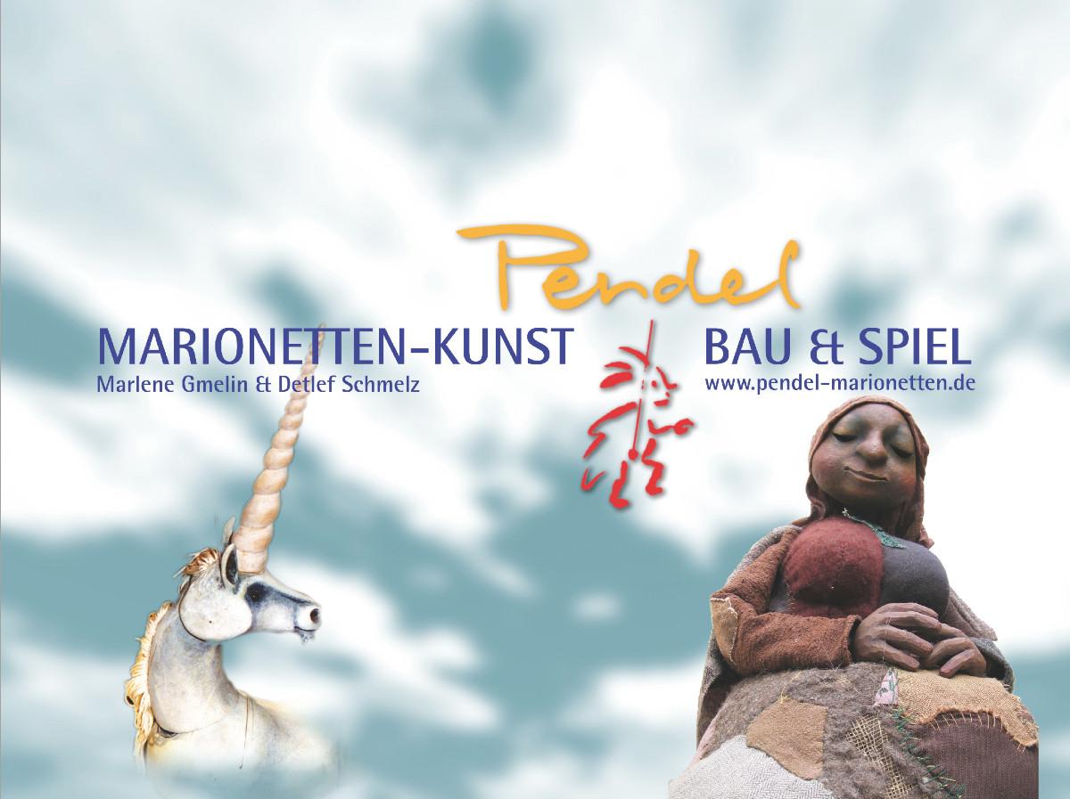 """seit 1990 • Selbstständig unter dem Künstlernamen """"Pendel"""". Ausstellungen, Galerien, Kunstmärkte, internationale Preise (u.a. 1996 und 2004 Eurodoll für die beste Marionette und 1999 Großer Preis von Gmunden/Austria)."""