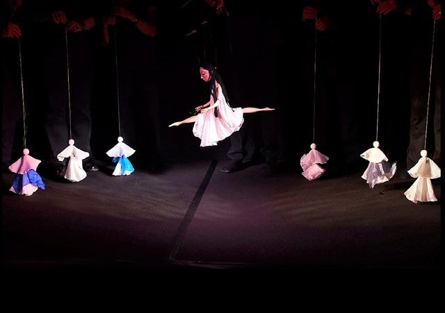 ...eine kleine Balletteinlage und...