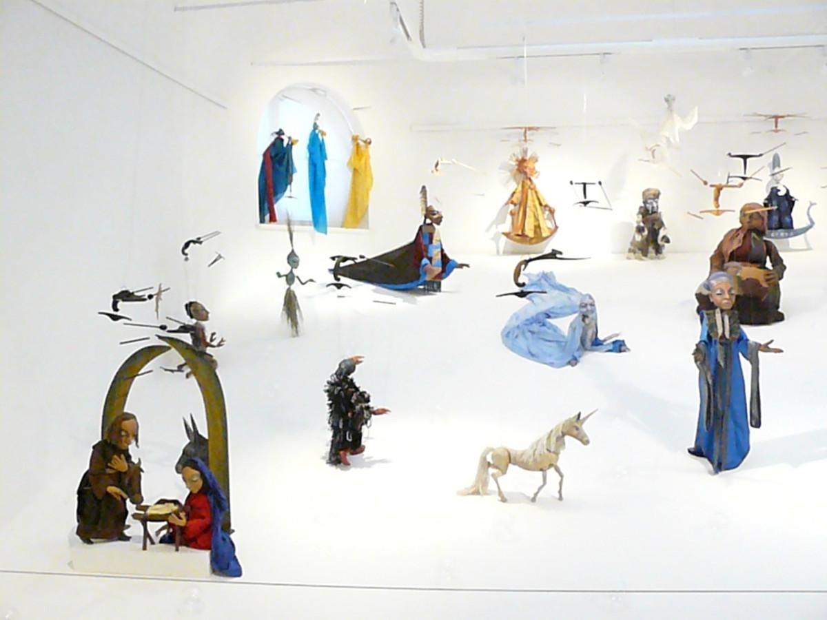 Große Sonderausstellung unserer Marionetten im Deutschen Spielzeugmuseum Sonneberg/Thüringen, zweimal verlängert.