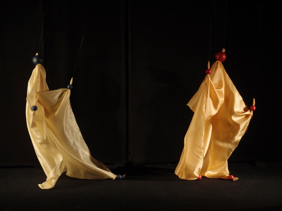 Puppeteering with cloth puppets to music will be further refined.