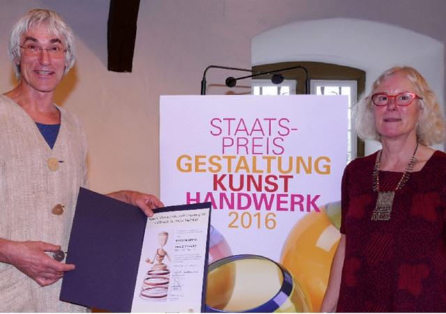 Marlene Gmelin und Detlef Schmelz, glückliche Gewinner.