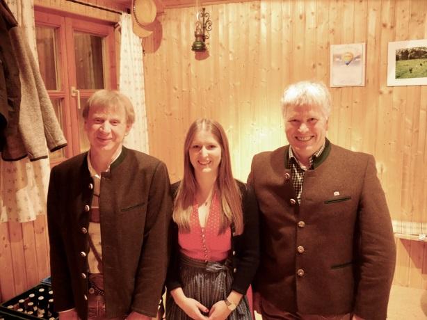 v.l. Martin Huber, Christine Huber, Gerhard Holzmann
