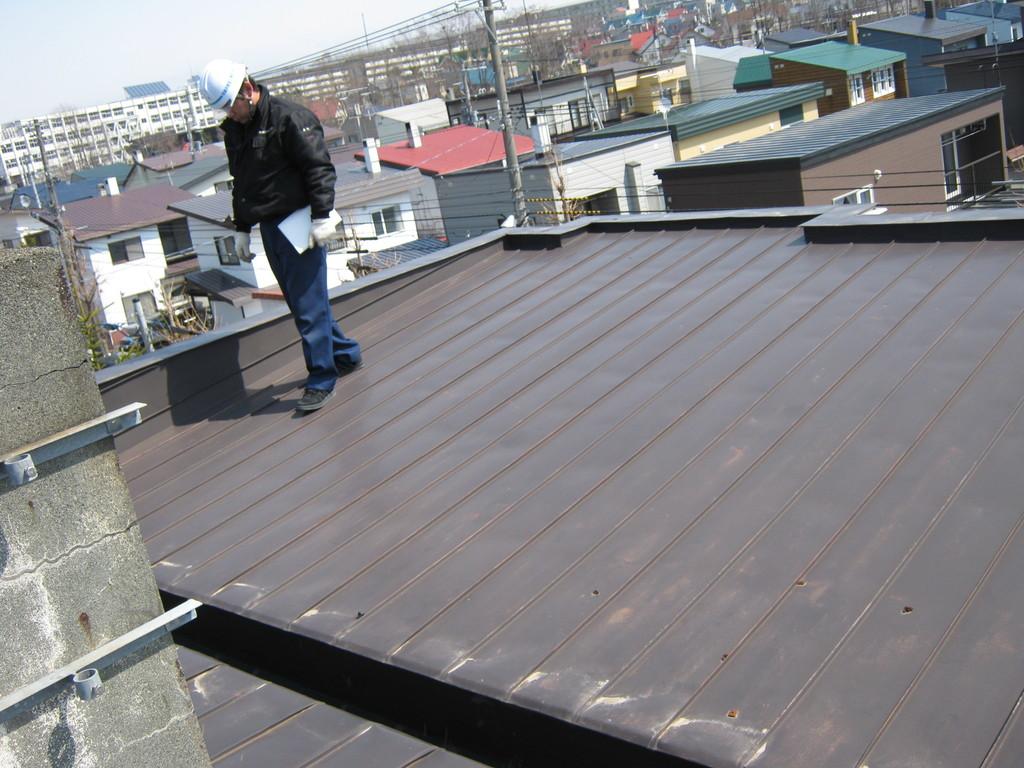 屋根の点検1