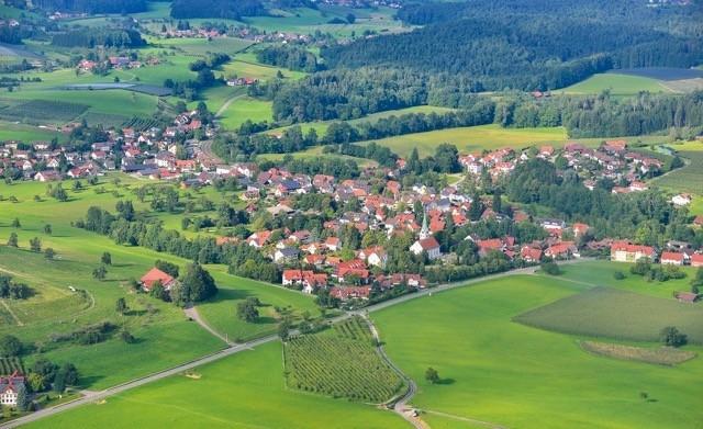 Luftbild auf Oberreitnau, Foto: ©Wolfgang Schneider