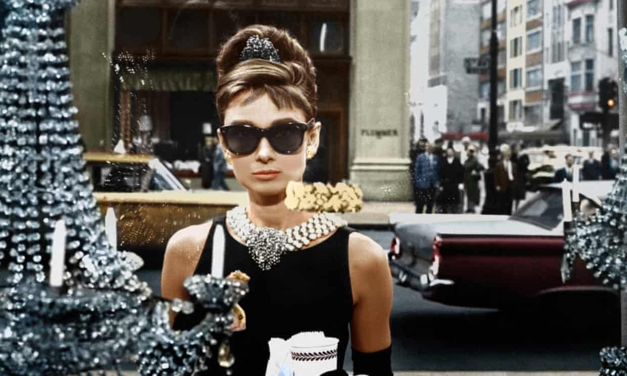 Audrey Hepburn in Breakfast at Tiffany's. Photograph: Paramount/Kobal/Rex/Shutterstock