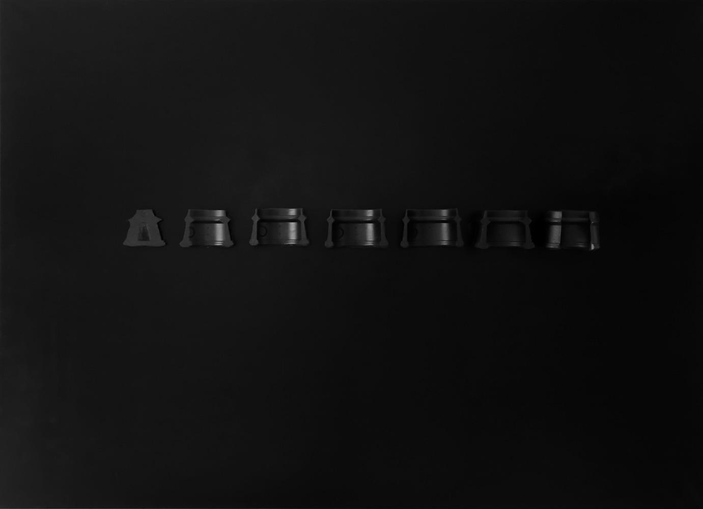 Nobahar-Design-Milano-Contemporary-3dPrinted-artwork-wallpanel-black-interiordesign