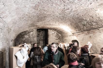 Cellar of Palazzo Ghizzoni Nasalli - Piacenza