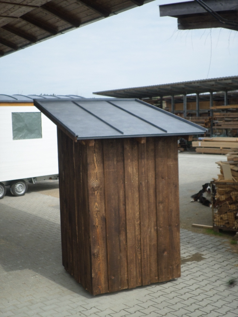 Toilettenhaus Mobil Holzbau Pletz