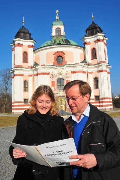 Korepetitorin, Andrea Winkler und Chorlaiter