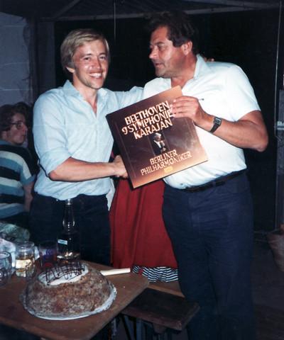 Chorleiter und Obmann der UNION-Lambach, Hans Steinbacher