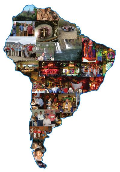 Reise nach Südamerika