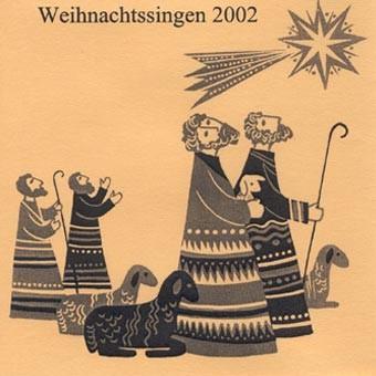 Weihnachtssingen 2002
