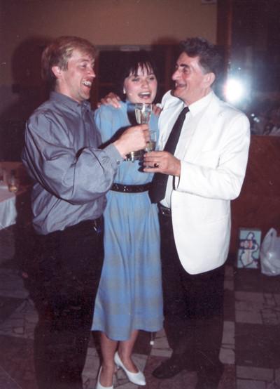 Chorleiter Prof. Potocar (Nitra)