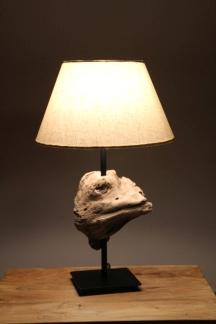 Treibholz Schwemmholz Lampe