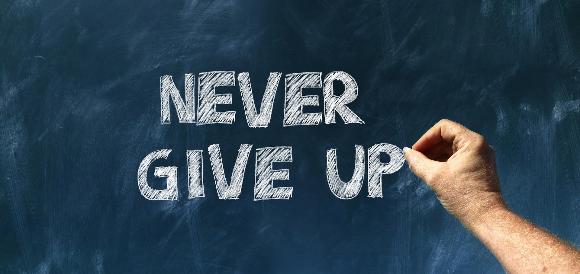 La patience et la persévérance sont les clés de votre réussite