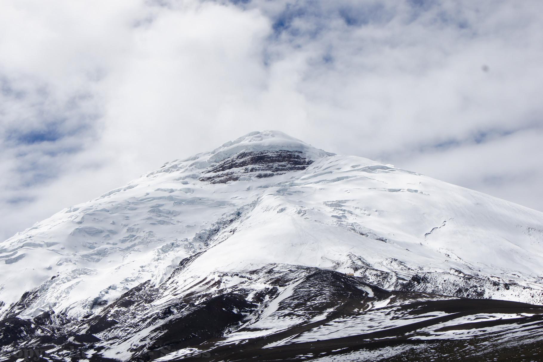 Der Cotopaxi - mit 5'897m der höchste aktive Vulkan der Welt