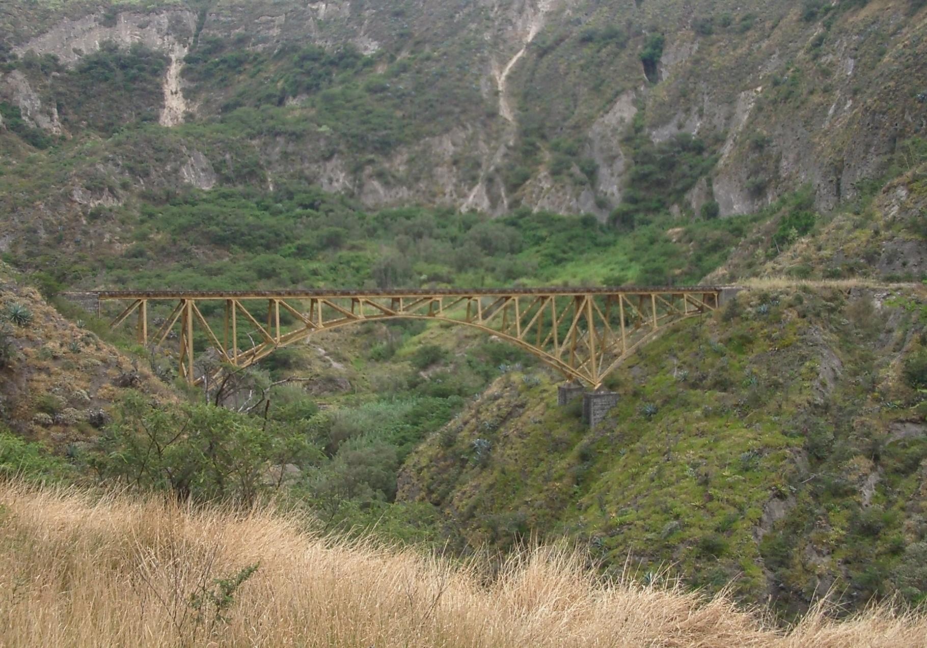 Eisenbahnbrücke bei Ibarra