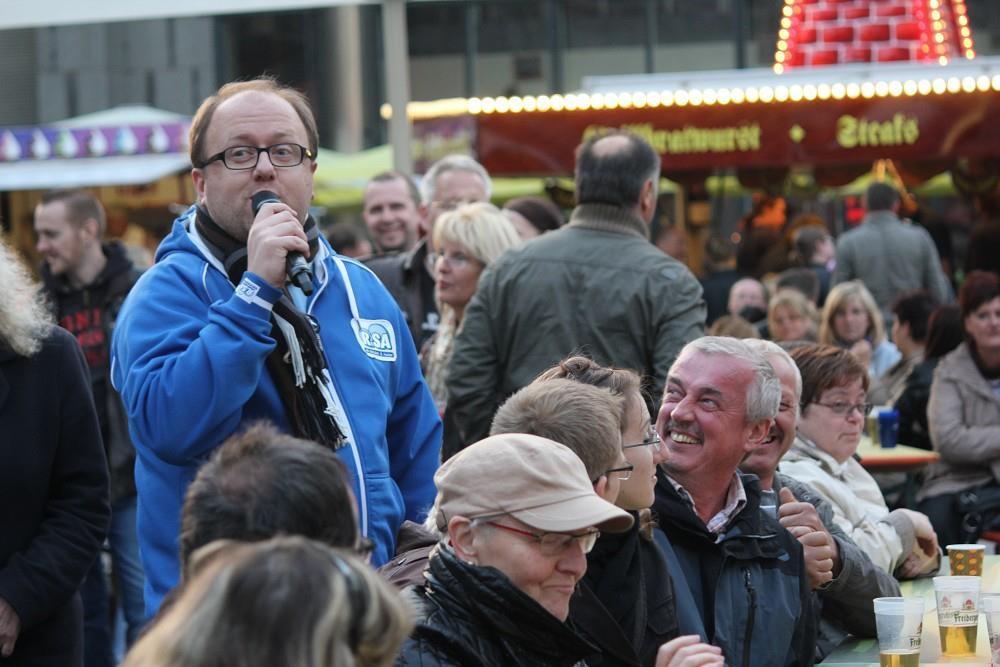 Beim Leipziger Stadtfest 2012, Foto: DoBiMedia