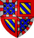 Coat of arms of the second Duchy of Burgundy and later of the French province of Burgundy