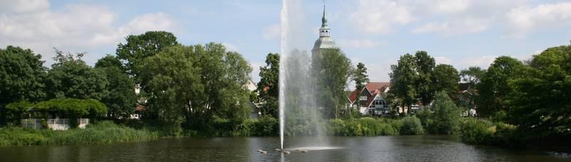 Springbrunnen © Stadt Rheda-Wiedenbrück