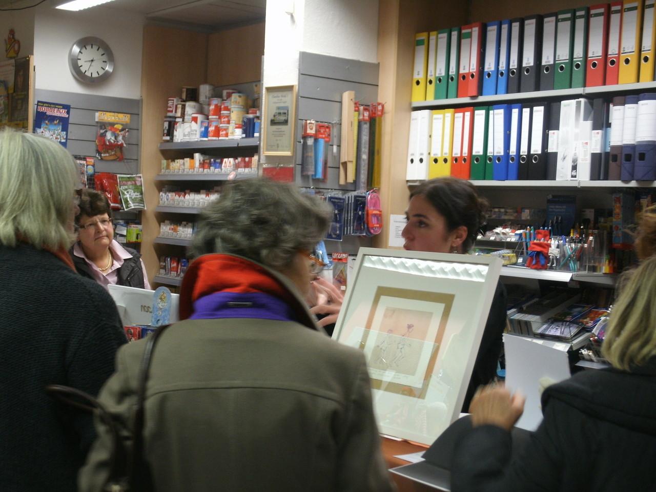 """Lesung bei der Buchhandlung """"Michaels"""" 2012"""