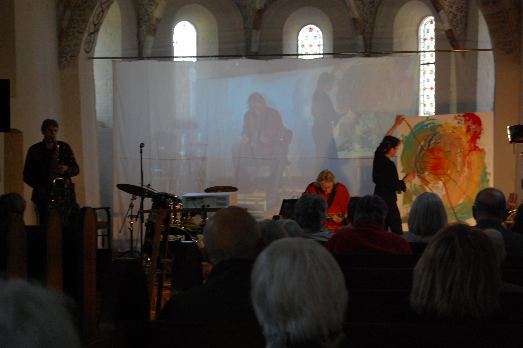 Auftritt Kirche Zarpen