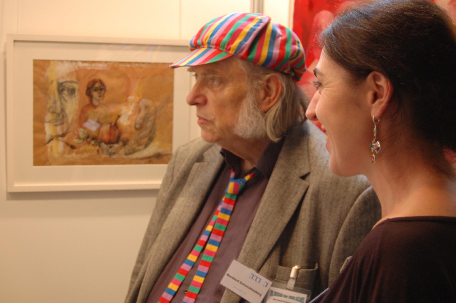Bernhard Schwichtnberg und Megi Balzer in Kiel