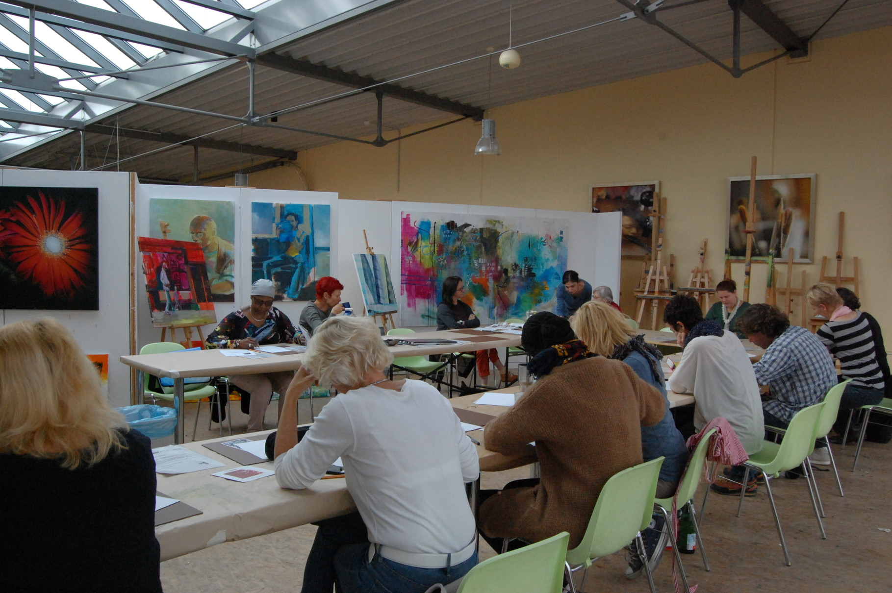 Megi Balzer, Workshop, Boesner,  Berlin Marienfelde
