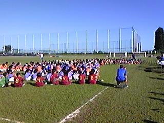 夏のサッカー合宿