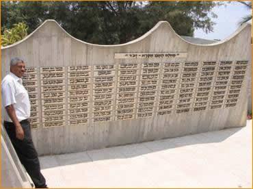Ehrenmal der gefallenen Beduinen der israelischen Armee in Zaizir