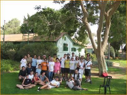 Im Garten von Ben Gurion's Alterssitz in der Negev Wüste
