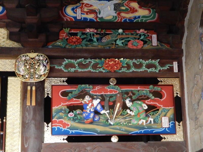h25-2 長建寺欄間彫刻(岸亦八作)