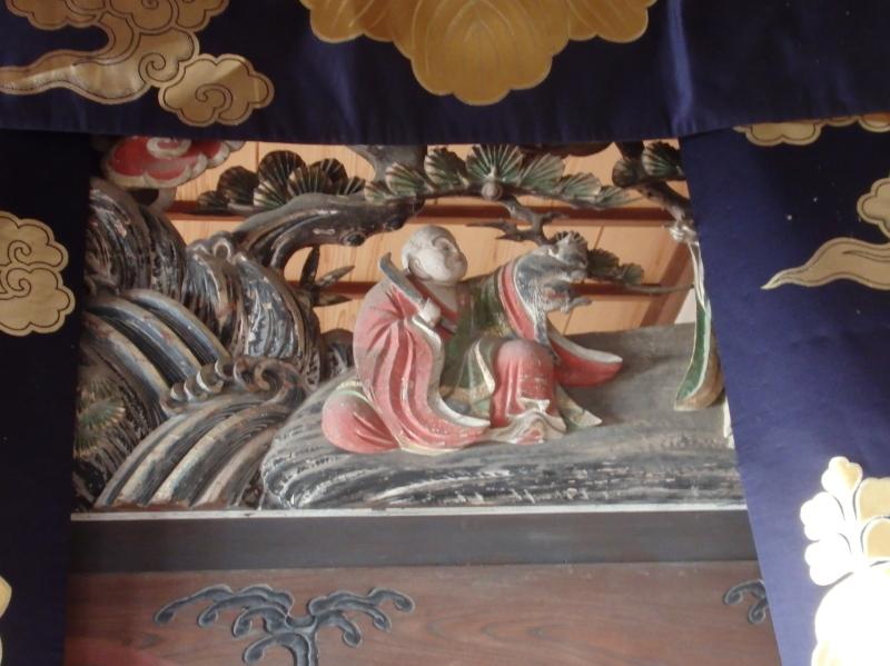 c15-2 大蒼院の欄間飾り (二代 石原常八作)