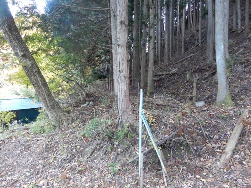a23-2 餅ヶ瀬川右岸 道の痕跡
