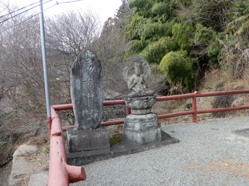 f27-4 寛政四年の薬師座像と庚申塔