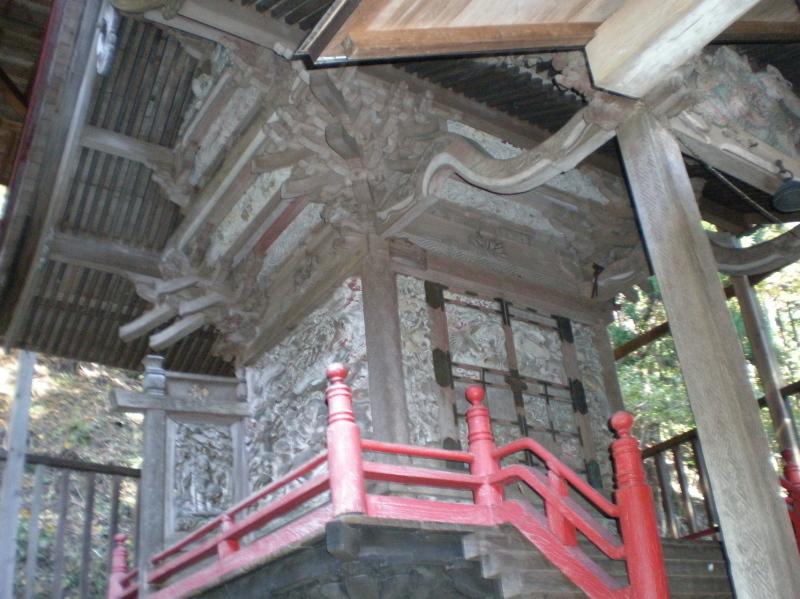 e03 栗生神社 関口文次郎の彫刻