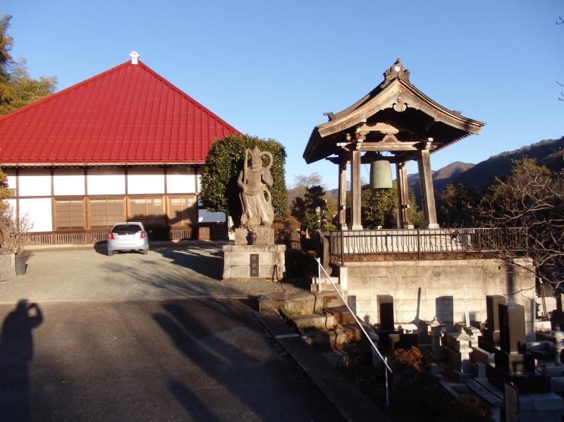 大蒼院本堂と鐘突堂