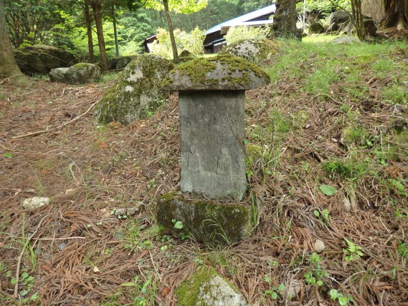 唐風呂地区の石碑