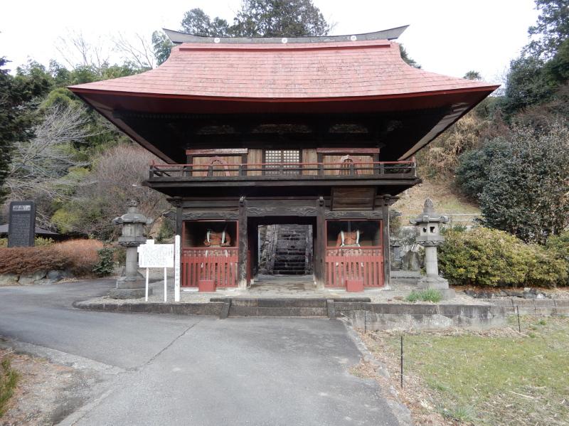 f27-1 穴原薬師 楼門