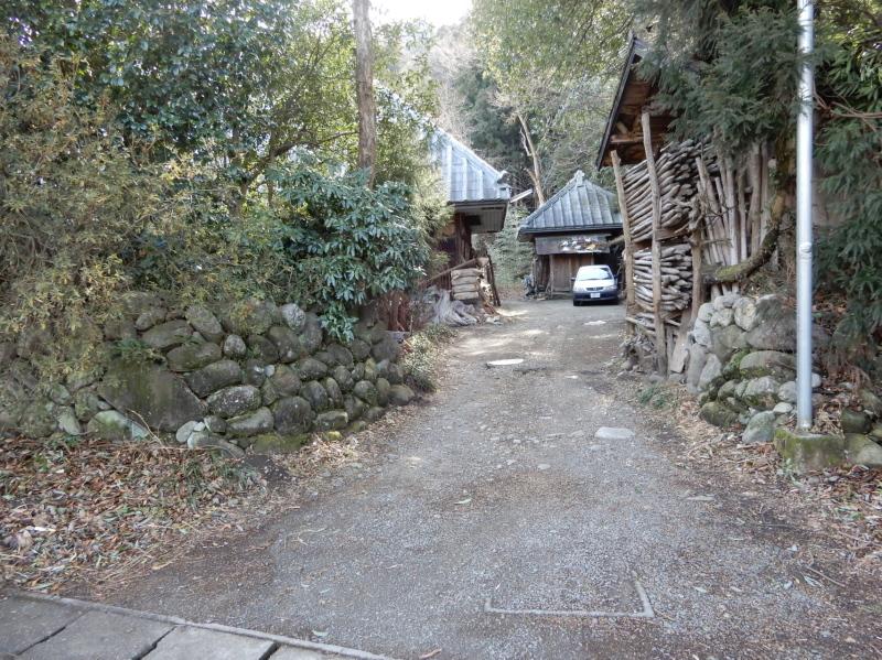c30-3 古民家(2)の石垣