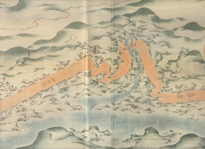深沢川絵図