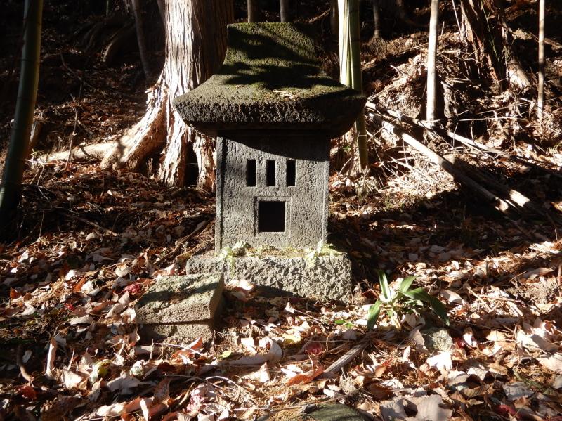 a21-2 巣上沢(すがみさわ)左岸にある祠